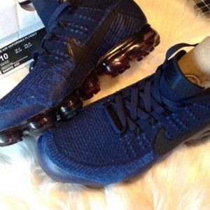 Nike Vapormax Flyknit Midnight Navy Blue